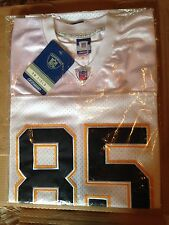 Antonio Gates - NFL Authentic Reebok Jersey 52 - San Diego Chargers White NEW!