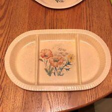 New listing Treasure Craft Crockery 15 x 9 Serving Dish 867 868 Ovenware Flowers Usa !