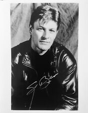 Sean Bean HAND SIGNED 10x8 PROMO Photograph Lord of the Rings Game of Thrones IP