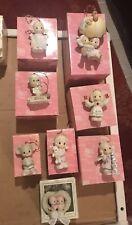 8- Precious Moments Figurines Enesco 104207 117790 877514 4003161 520446 610002