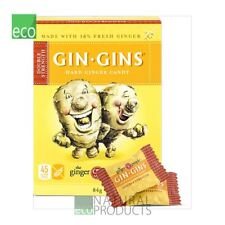 Ginger People Gin Gins Double Strength Hard Ginger Candy 84g (pack of 2)