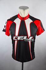 Cell radtrikot Cycling Jersey maglia rueda camiseta talla M negro ZIP