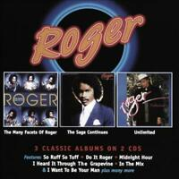 ROGER (ZAPP) - THE MANY FACETS OF ROGER/THE SAGA CONTINUES/UNLIMITED * NEW CD