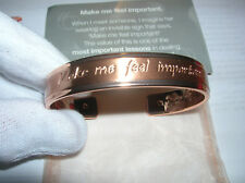 "Mary Kay  Bracelet ""Make me feel important"" NEW FREE shipping"