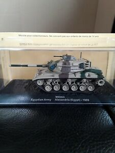 DEAGOSTINI - M60A3 EGYPTIAN ARMY 1999  - 1/72  SCALE MODEL TOY / TANK Rare -951