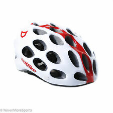 Catlike Whisper Road Bike Helmet Small 54-56cm White/Red 2119079PSMSV