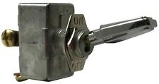 """Universal Zinc Die-Cast On Off Toggle Switch 12/24V 50A SPST - 15/32"""" Diameter"""