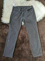Levi's Levis Strauss Men's 511 Skinny Black Denim Jeans 34 x 30