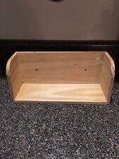 """Wood Tea Display 11.5"""", 4"""" Deep"""