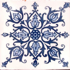 #C088) Mexican Tile sample Ceramic Handmade 4x4 inch, GET MANY AS YOU NEED !!