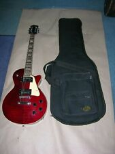 Vintage Agile 2000 Electric Guitar Les Paul Model Serial 19895 with Soft Case