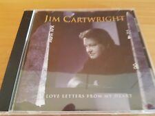 Jim Cartwright – Love Letters From My Heart  - Neu - aus Cd Sammlung