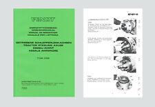 Fendt Farmer 5 S  106 108  Werkstatthandbuch Allradachse  Schlepper