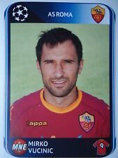 PANINI 308 MIRKO VUCINIC AS ROMA UEFA CL 2010/11