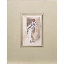 Joseph Clayton Clarke Kyd Coavinses Bleak House Dickens Illustration Painting