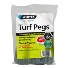 Turf Pegs Pack 100 150mm x 3mm Artificial Grass Synthetic