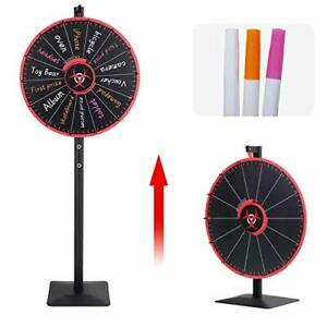 24 Inch Spinning Prize Wheel Spinner Stand, Tabletop or Floor Spinner Stand,
