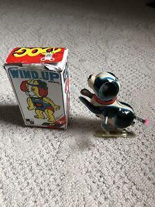 Fa Tiao China Dog Tin Wind-Up Jumping Toy RARE!