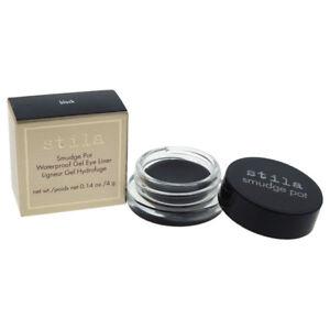 Smudge Pots Waterproof Gel Eye Liner - Black by Stila for Women - 0.14 oz