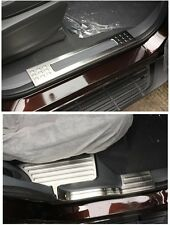 Protector Inner Door Sill Plate Cover Trim For Ford Everest 4Dr SUV 2015 2016