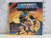 Vintage 1983 Heman And The Masters of the Universe Book With Record Mattel