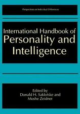 International Handbook of Personality and Intelligence (Perspectives-ExLibrary