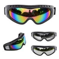 2Pcs Youth Unisex Motocross Goggles Dirt Bike ATV Off Road Outdoor Kids Glasses