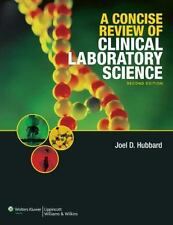 A Concise Review of Clinical Laboratory Science by Hubbard, Joel