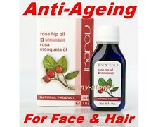 IKAROV 100% Pure Rosehip Seed Oil from Chile by Anti-Ageing for Face & Hair 30ml