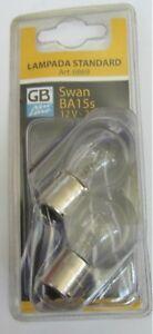 2 X Bulb Standard GB New Line Swan BA15s 12V-21W Auto Parts Lights New