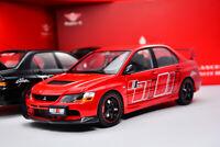 Super A Mitsubishi Lancer Evolution IX - RallyArt Red 1/18
