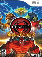 Chaotic: Shadow Warriors (Nintendo Wii, 2009) Brand New Factory Sealed