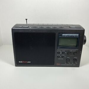 Sangean CC Radio Plus AM/FM/TV/Weather Band Receiver with battery backup