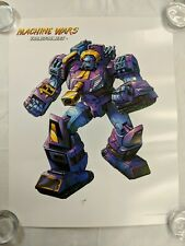 Transformers Machine Wars STRIKA Lithograph Poster Print 2013 Botcon LADV07