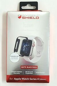 INVISIBLE SHIELD LUXE PROTECTIVE BUMPER CASE APPLE WATCH SERIES 4 ZAGG 40mm