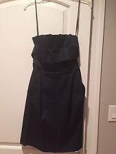 Laila Azhar Strapless Black Dress Size 2
