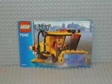 LEGO® City Bauanleitung 7242 Kehrmaschine gelocht instruction B2590