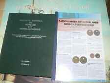 Lansen & Wells:PLANTAGE- HANDELS EN MIJNGELD VAN NEDERLANDS INDIË.+ Supplementen