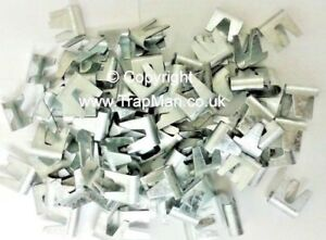 Cage Making clips 180 medium HEAVY DUTY clips to make cages CT35 by TrapMan UK