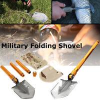 Military Folding Shovel Survival Spade Emergency Garden Camping Multitool Metal