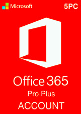 Microsoft Office 365✅ ProPlus User Account-Lifetime✅ 5 Devices for Windows&Mac✅