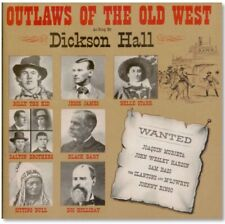 Country CD - Dickson Hall - Outlaws Of The Old West - Germany Import - NEW