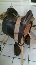 mcClellan ,Civil War WII Calvary Horse Saddle McClellan Style Military Saddle