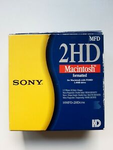 8 x SONY 2HD IBM Formatted 1.4MB 3.5'' Floppy Disks. Pack of 8 discs