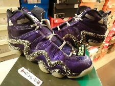 NEW ADIDAS CRAZY 8 KOBE NIGHTMARE BEFORE CHRISTMAS D73959 PURPLE GLOW IN SZ 10.5