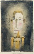 Paul Klee Reproduction: Portrait of a Yellow Man - Fine Art Print