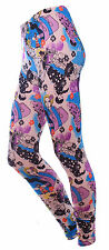Fashion Galaxy Printed Stretchy Leggings Yoga Gym Funky Pencil Pants For Women