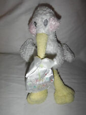 "Special Delivery Stork 11"" Baby Shower Plush Soft Toy Stuffed Animal"