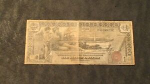 1896 ONE DOLLAR SILVER AG/GOOD CERTIFICATE EDUCATIONAL NOTE $1 BILL!