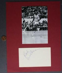 1976 Indiana University NCAA Champs Bobby Wilkerson signed autograph photo set!